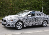 BMW начало тестирование седана BMW первой серии