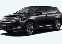 Новый Lexus RX показан в виде Toyota Harrier