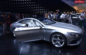 Пятиметровая яхта Mercedes S-Coupe представлена официально
