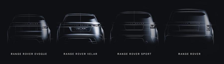 Скемейство Range Rover