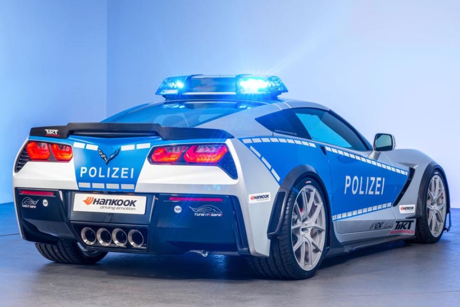 Chevrolet Corvette Polizei