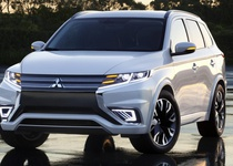 Mitsubishi досрочно показала концепт Outlander PHEV Concept-S