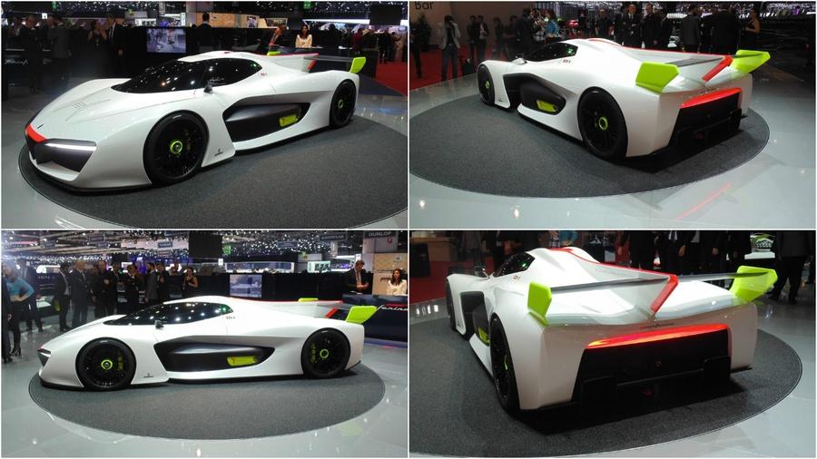 Концепт Pininfarina H2 Speed на Женевском автосалоне 2016