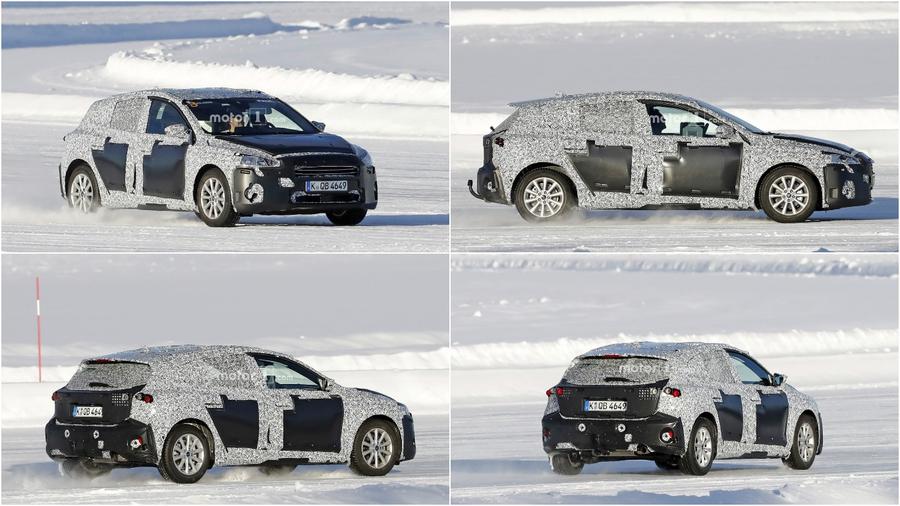 Прототип Ford Focus четвертого поколения
