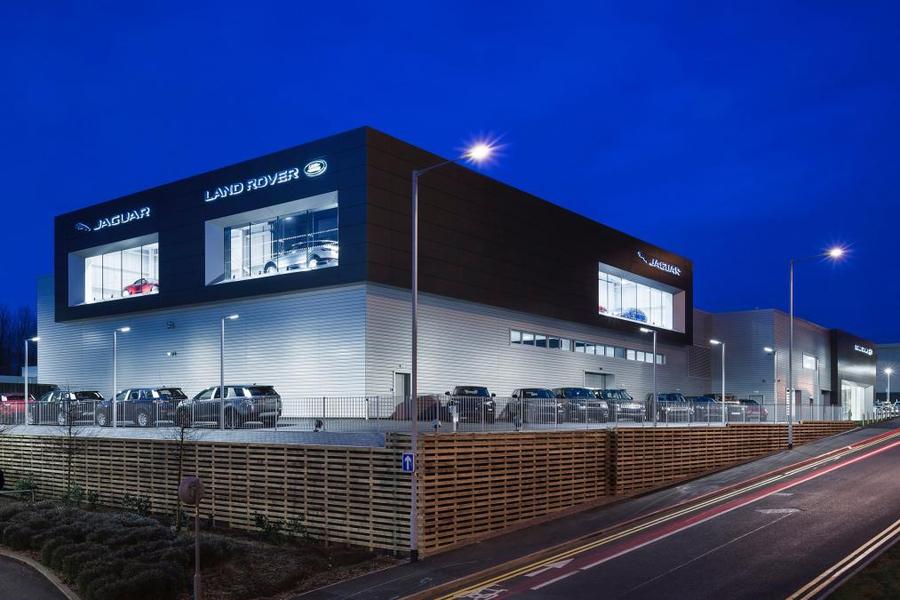 Шоу-рум Jaguar Land Rover