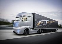 Mercedes-Benz представила беспилотный грузовик будущего (видео)