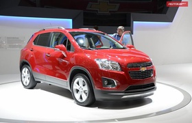 Paris'2012: Chevrolet Trax — для Украины Tracker