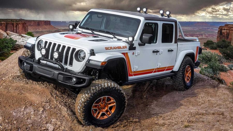 Jeep Gladiator JT Scrambler