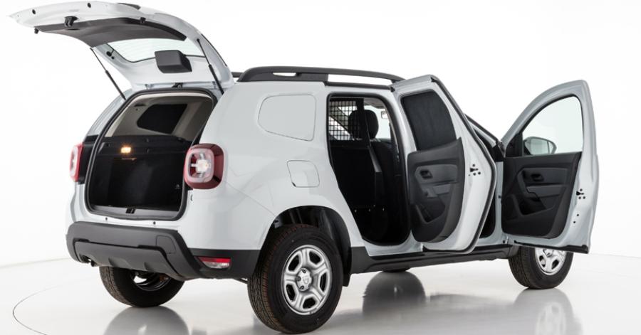 Новый кроссовер Renault Duster превратили вфургон Duster Fiskal