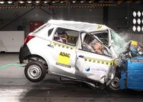 Краш-тест Datsun Go продемонстрировал опасность бюджетных автомобилей