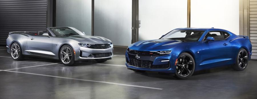 Chevrolet Camaro в версиях RS и SS