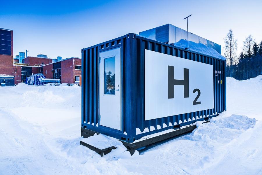 Блок получения водорода
