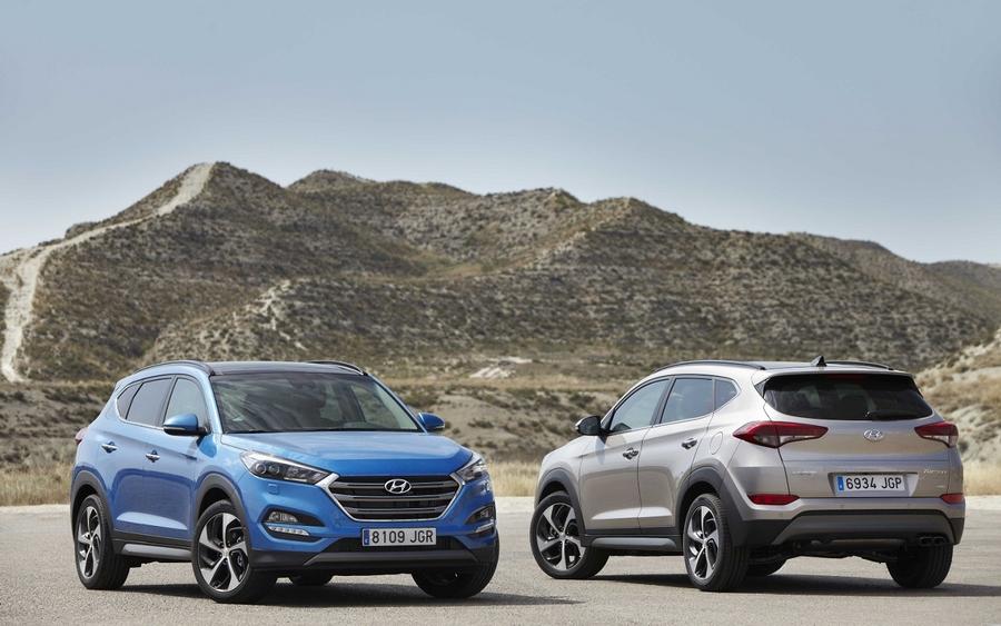 Hyundai Tucson - самая популярная модель в Одесской области