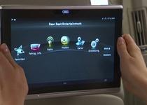 Audi представила новый планшет для задних пассажиров Q7 (видео)