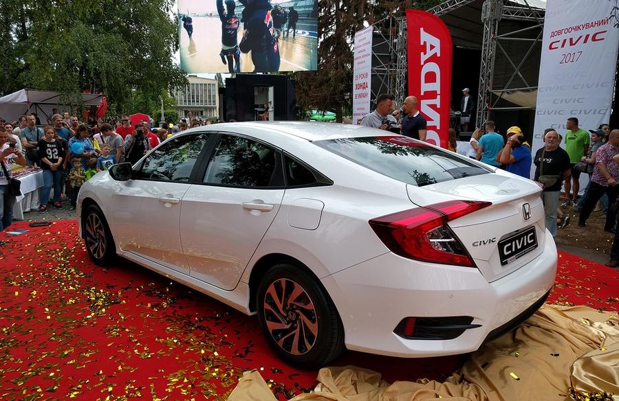 Honda Civic 4D 2017