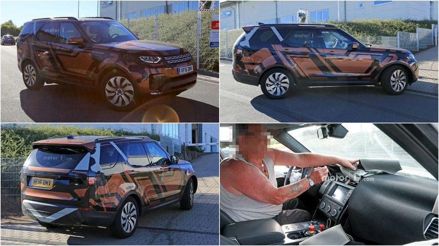 Шпионские снимки нового Land Rover Discovery