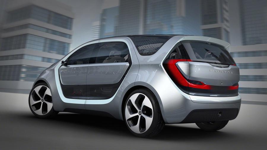 Электромобиль Chrysler Portal сумеет распознавать голоса илица пассажиров