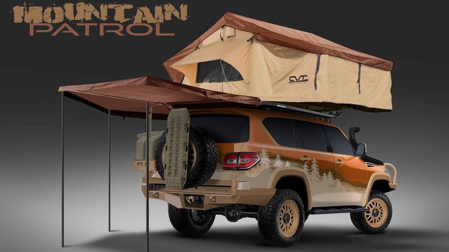 Пользователей социальных сетей попросили сделать экстремальный вседорожный автомобиль Ниссан