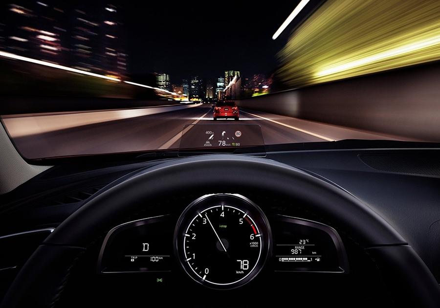 «Приборка» нынешней Mazda3
