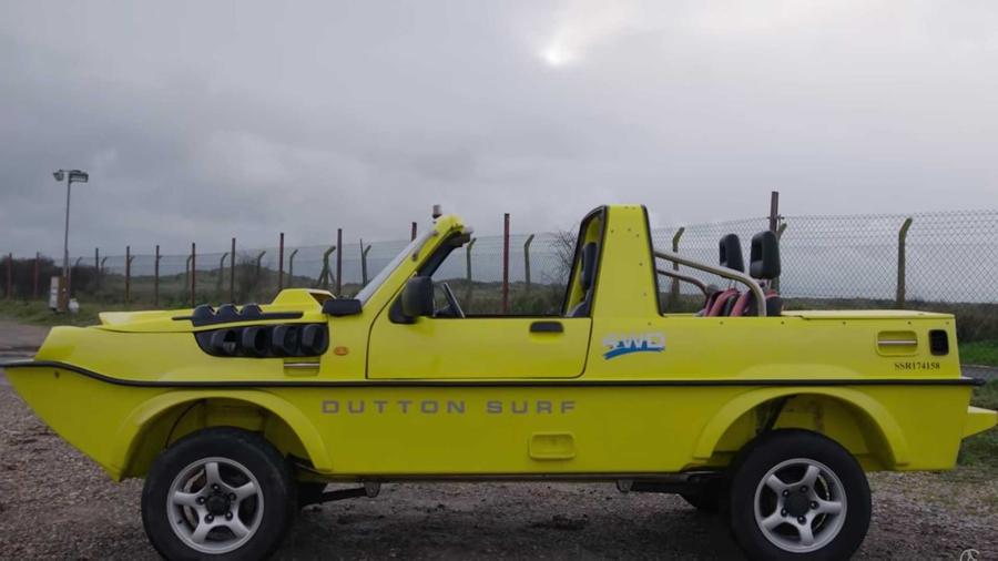 Внедорожник Suzuki Jimny стал амфибией