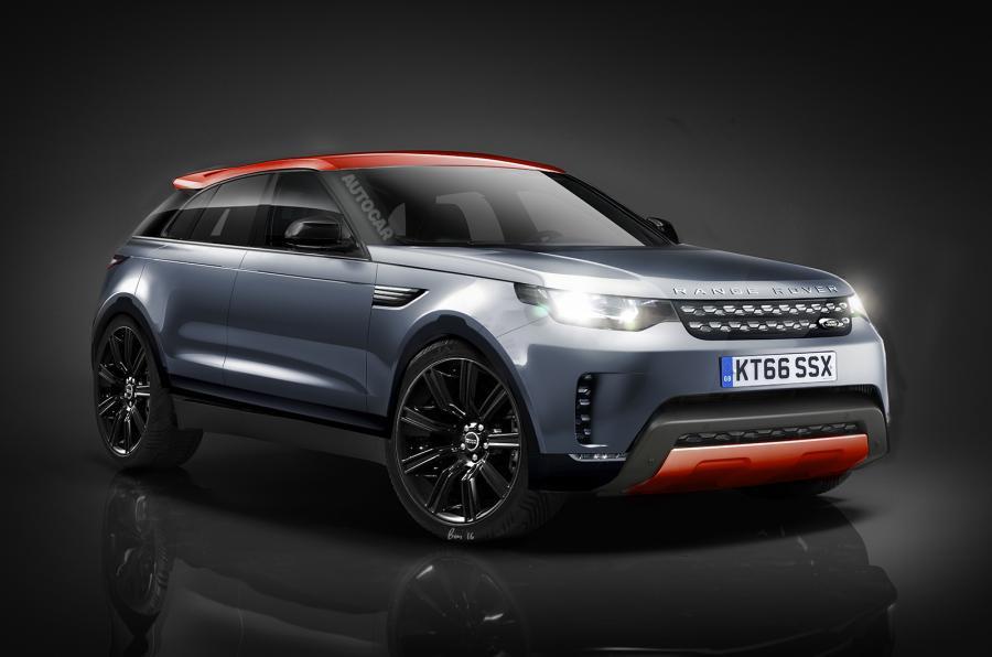 Предполагаемый внешний вид Range Rover Sport Coupe