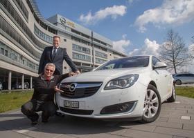 Дизельный Opel Insignia проехал 2111 километров на одном баке
