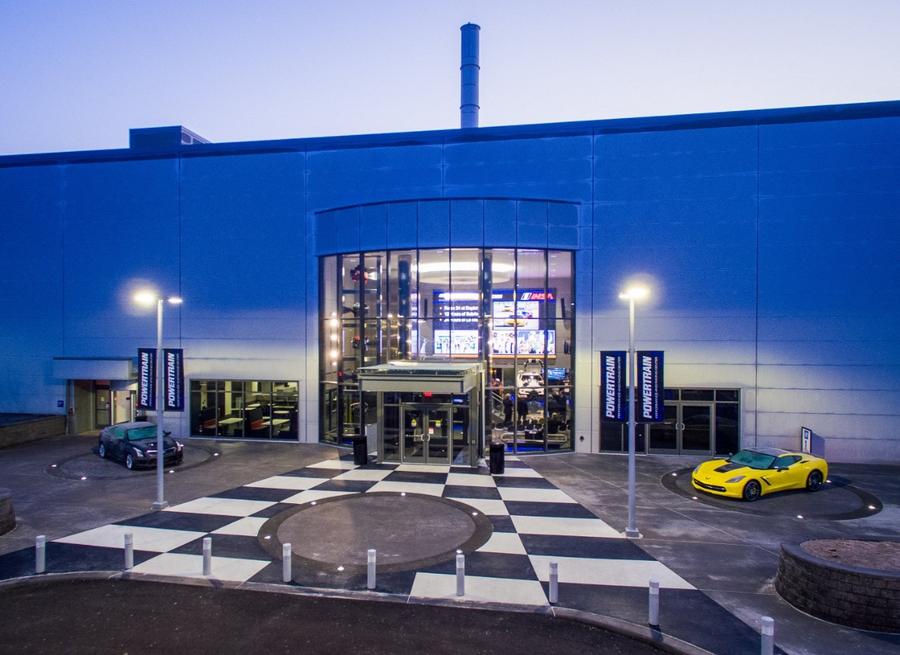 Инженерный центр GM в Понтиаке