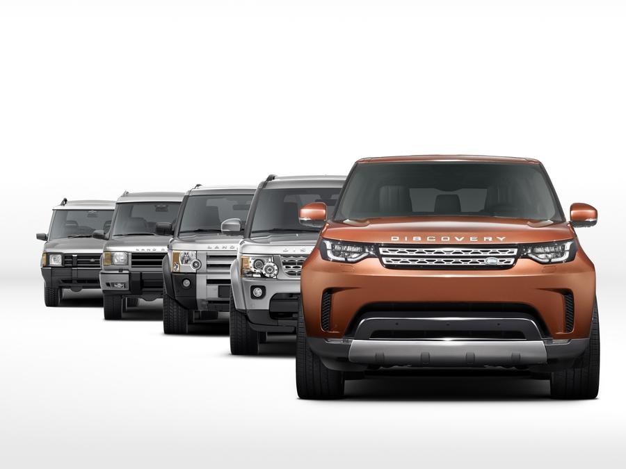 Эволюция Land Rover Discovery