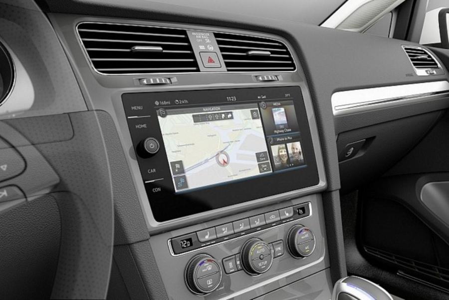 Мультимедийная система MIB на VW e-Golf Touch concept