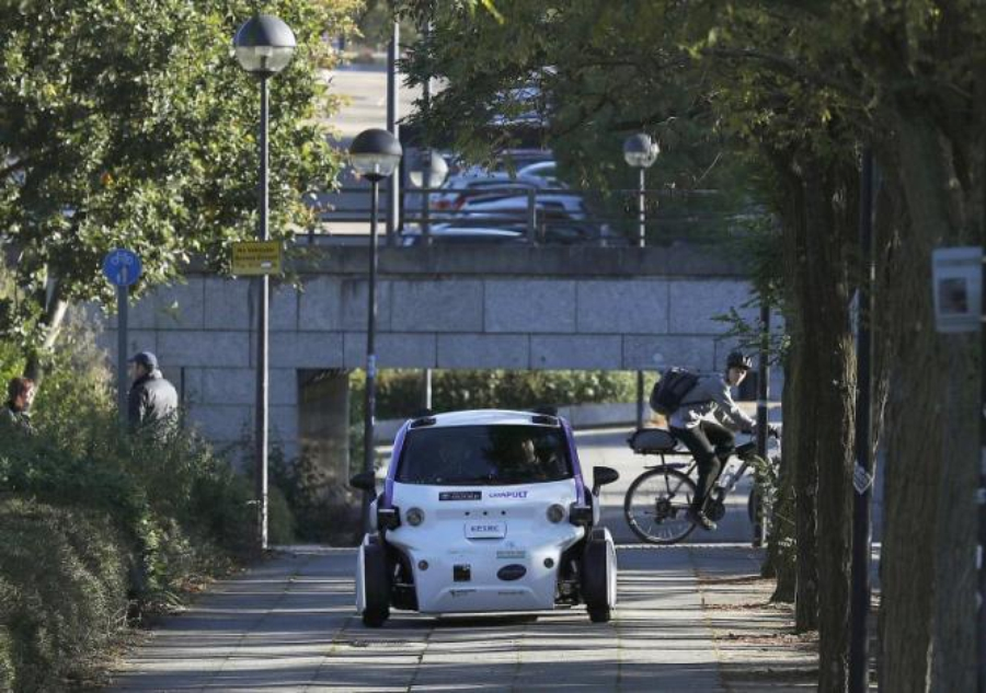 Англия начала тесты беспилотных авто