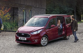 Ford Transit Connect и Courier пережили рестайлинг
