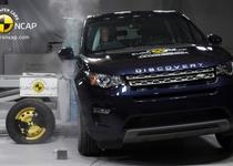 Land Rover Discovery Sport, Porsche Macan и Lexus NX получили 5 звезд Euro NCAP (видео)