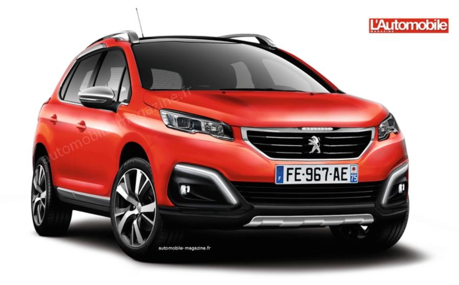 Реатйлинговый Peugeot 2008
