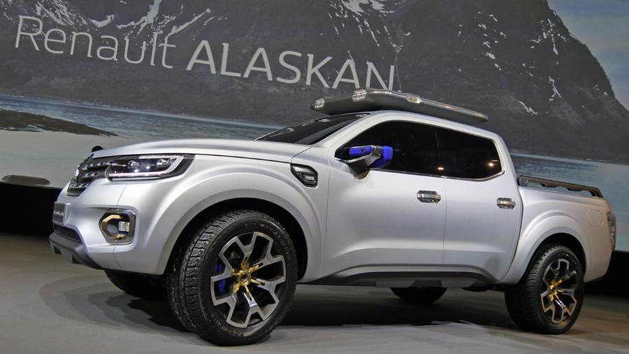 Концепт Renault Alaskan
