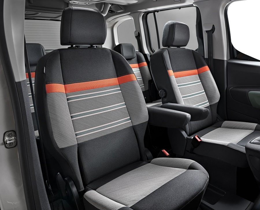 Салон Citroen Berlingo