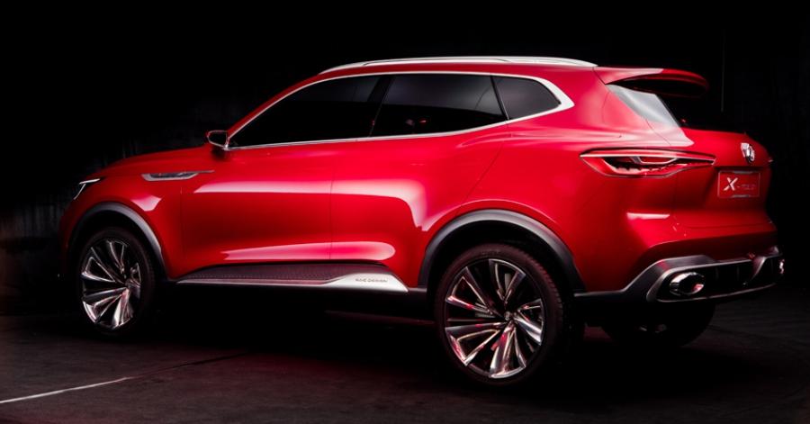 MGготовит новейшую премьеру X-Motion Concept для Пекинского автомобильного салона