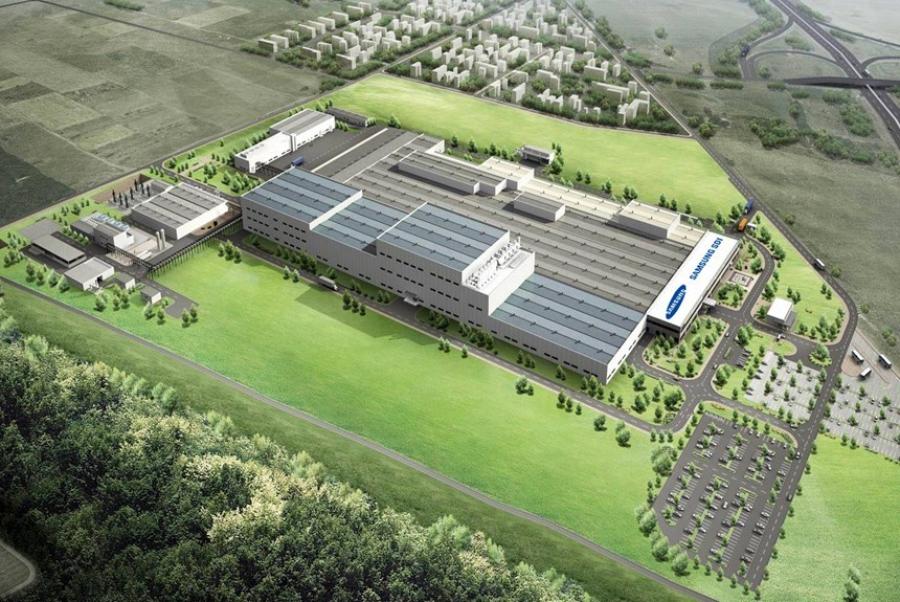 Завод Samsung SDI в Венгрии