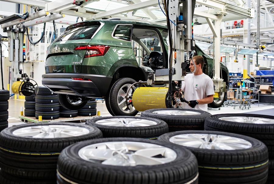Škoda выпустила миллионный кроссовер