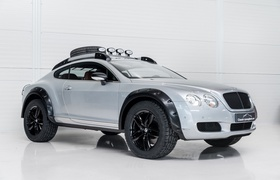 Голландцы построили внедорожную версию Bentley Continental GT