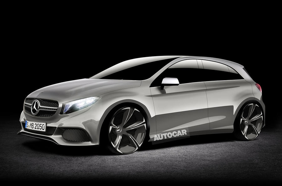 Эскиз нового Mercedes-AMG A45 от Autocar