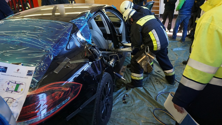 Казнь Porsche Panamera
