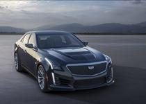 Компания Cadillac представила седан CTS-V 2016 модельного года