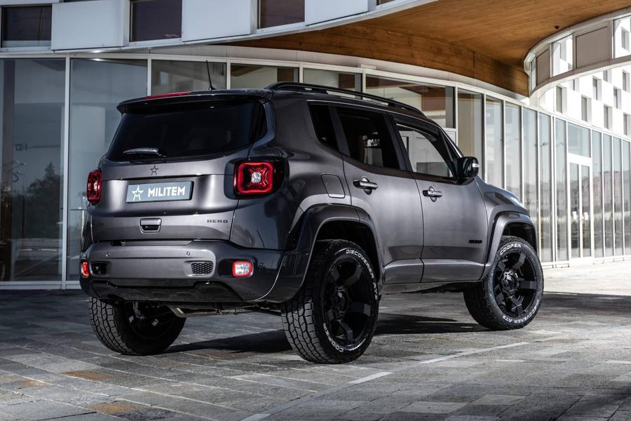 Jeep Renegade — Militem Hero