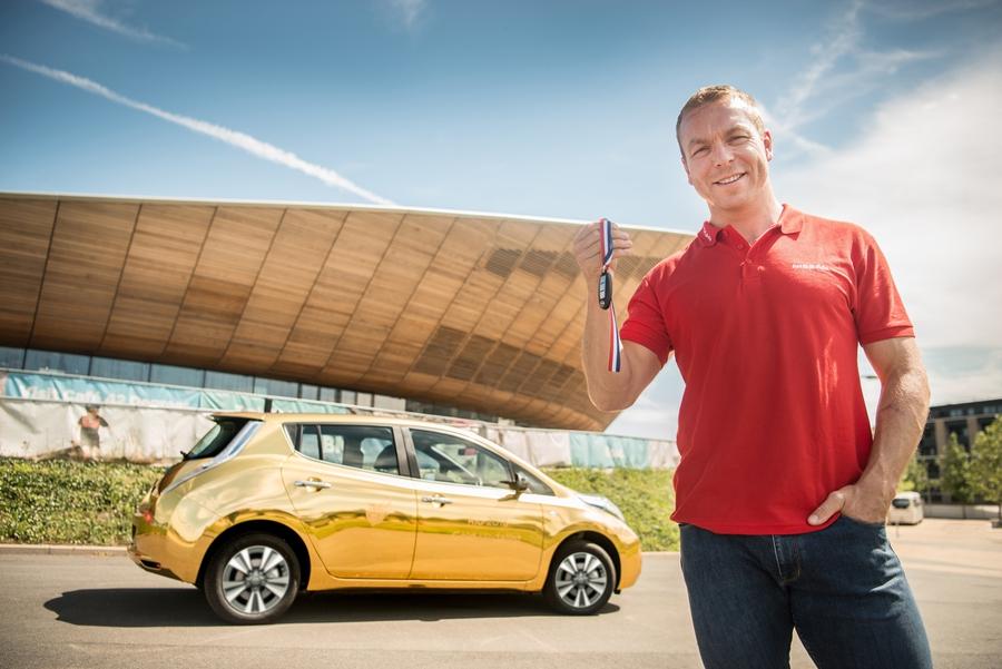 Nissan Leaf «Rio 2016 Gold Medalist»
