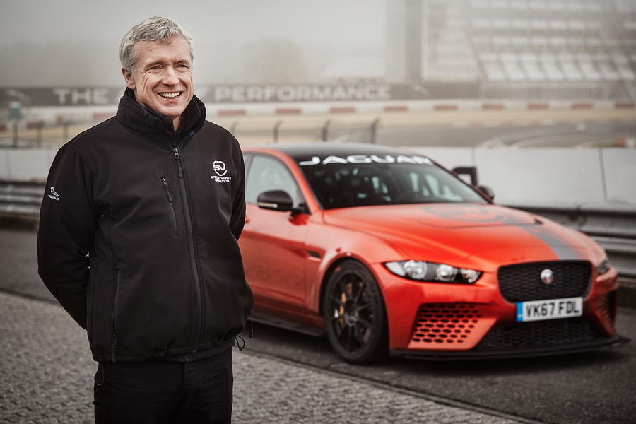 MARK STANTON  DIRECTOR OF JAGUAR LAND ROVER'S SVO DIVISION