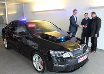 Škoda предоставила бельгийской полиции Octavia vRS за €85 000