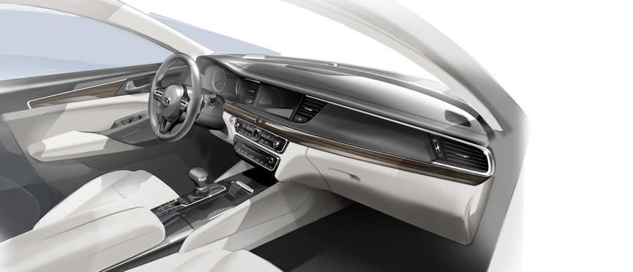 KIA підготувала нове покоління седана Cadenza