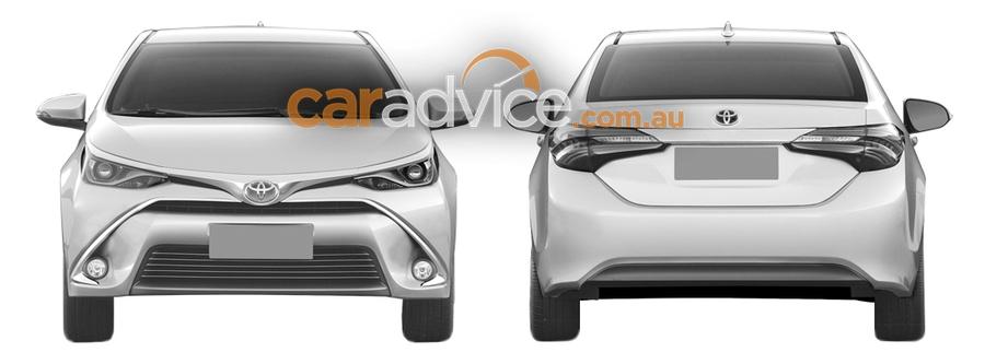 Американский вариант обновлённой Toyota Corolla