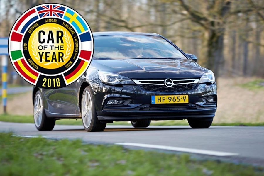 Opel Astra K - европейский автомобиль года 2016
