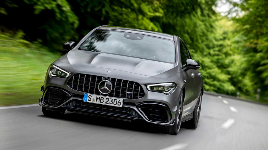 Mercedes-AMG CLA 45 4MATIC +